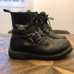 Men's Harley Davidson Motorcycle Boots 12